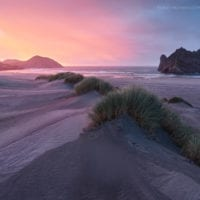 Tasman Coast, South Island, New Zealand