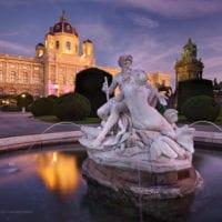 Triton Fountain, Vienna, Austria