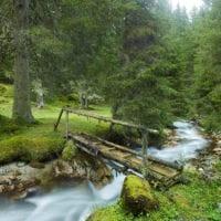 Forgotten bridge, Tyrol, Austria