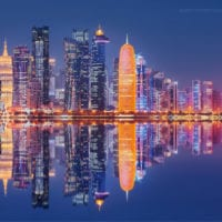 Doha Skyline, Katar