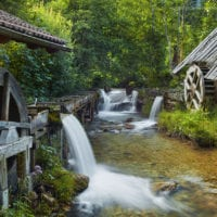 Water Mills, Boden Valley, Carinthia