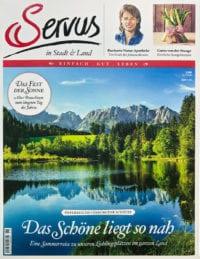 servus magazine cover